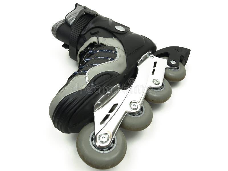 线路冰鞋 库存图片