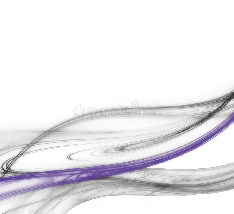线路紫色 皇族释放例证