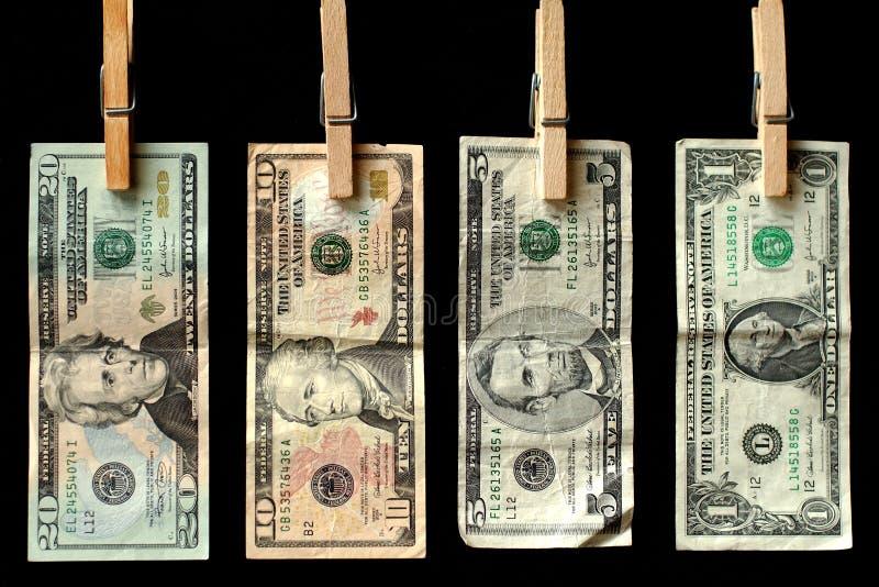 线路货币 免版税库存照片