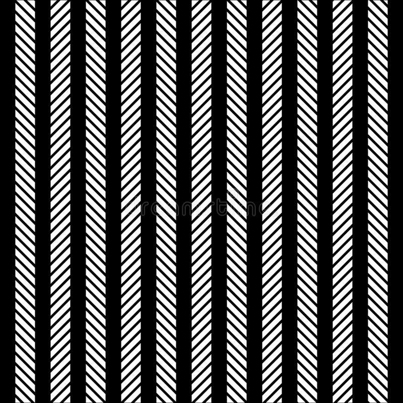 线黑白纹理 皇族释放例证