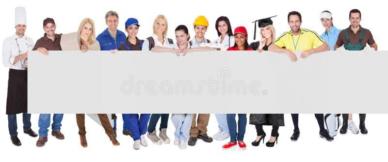 组不同的专业人员 免版税图库摄影