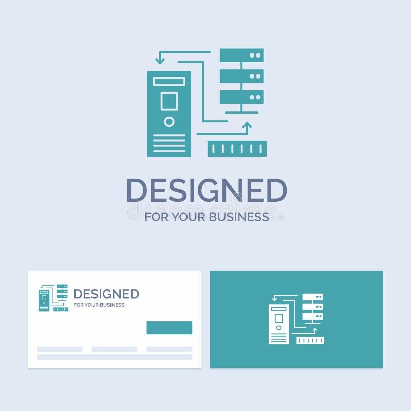 组合,数据,数据库,电子,信息企业商标纵的沟纹您的事务的象标志 r 向量例证