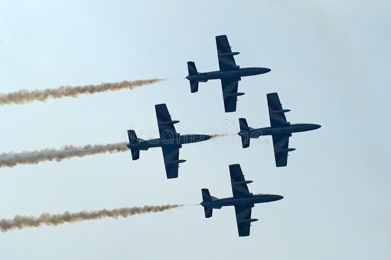 组喷气机 免版税库存照片