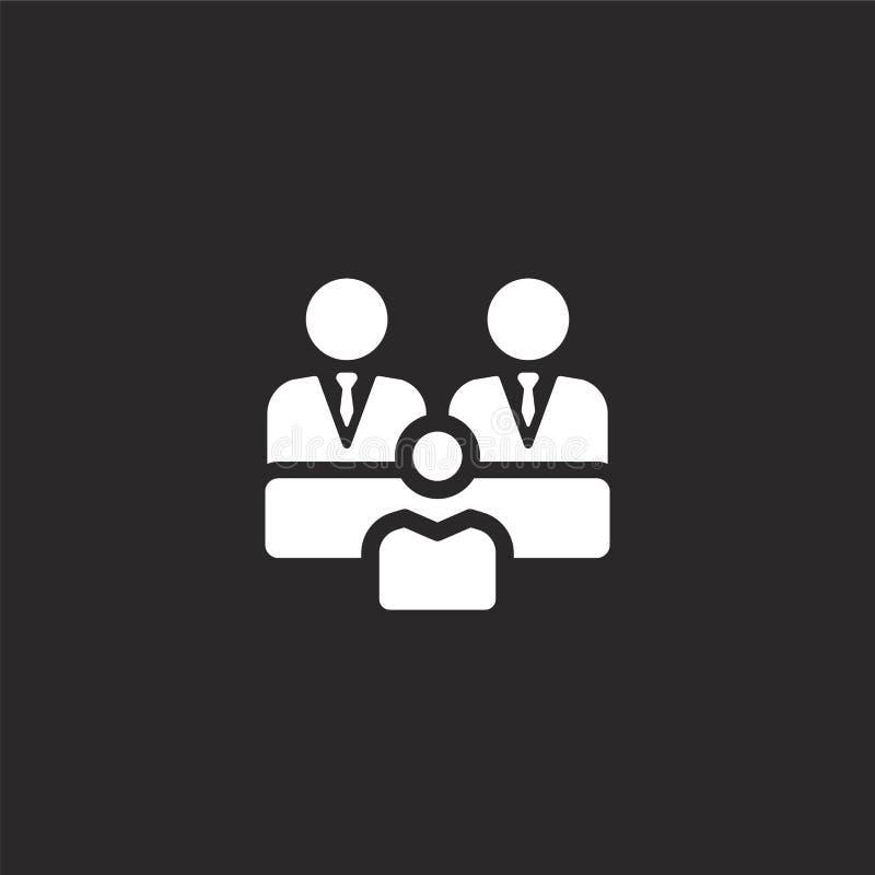组图标 网站设计和机动性的,应用程序发展被填装的组图标 从被填装的被填装的管理元素的组图标 皇族释放例证