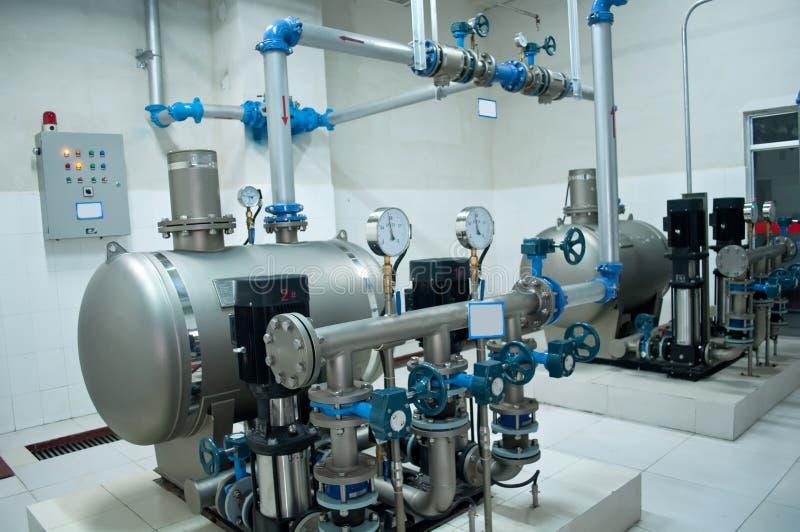组强大的泵 库存图片