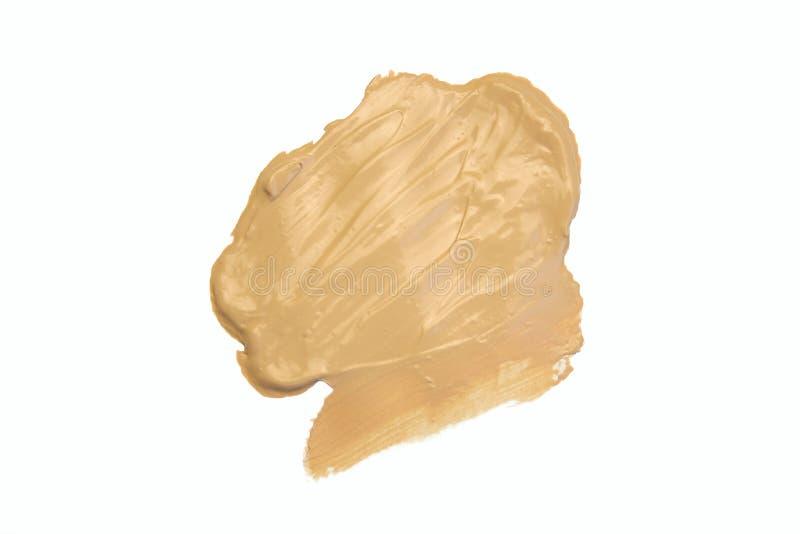 组成产品装饰宏指令 题字和标志 音调的奶油,粉末,皮肤产品 被隔绝的关闭 库存例证