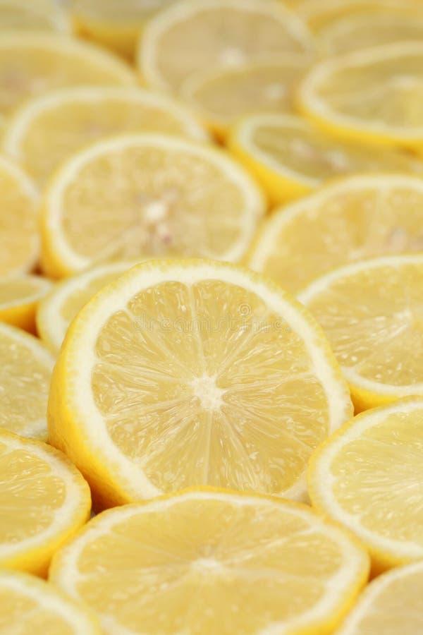 组成熟柠檬 库存照片