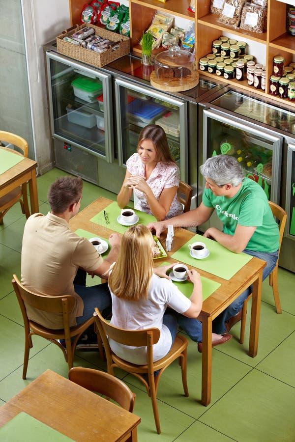 组正常餐馆 免版税库存照片