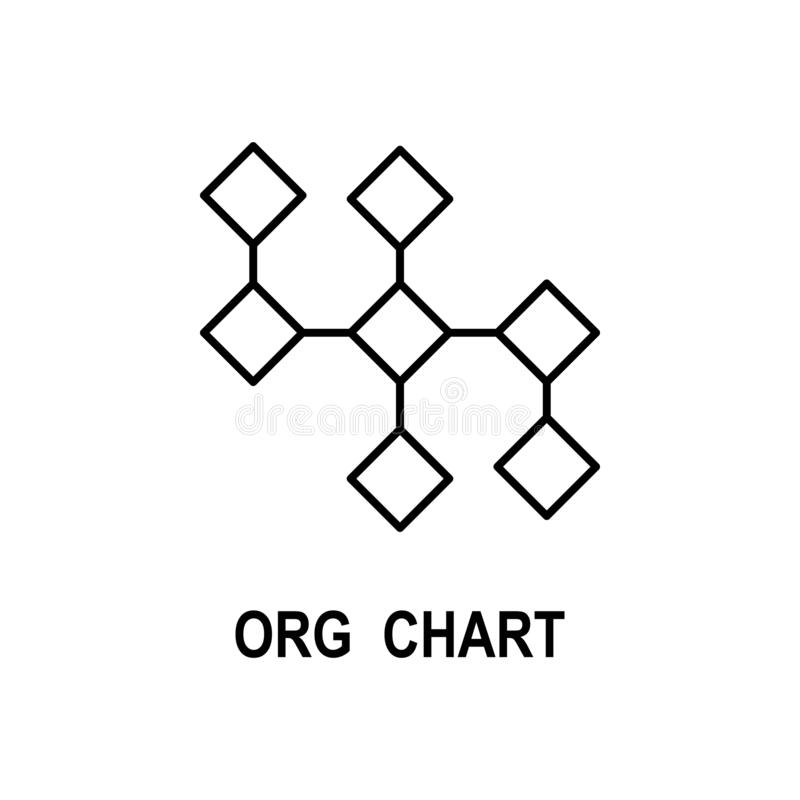 组织系统图象 企业流动概念和网应用程序的结构象的元素 稀薄的线组织系统图象 库存例证