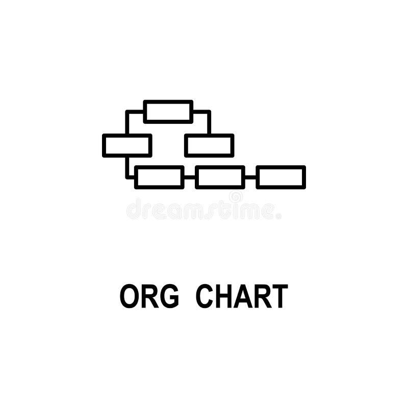 组织系统图象 企业流动概念和网应用程序的结构象的元素 稀薄的线组织系统图象 皇族释放例证