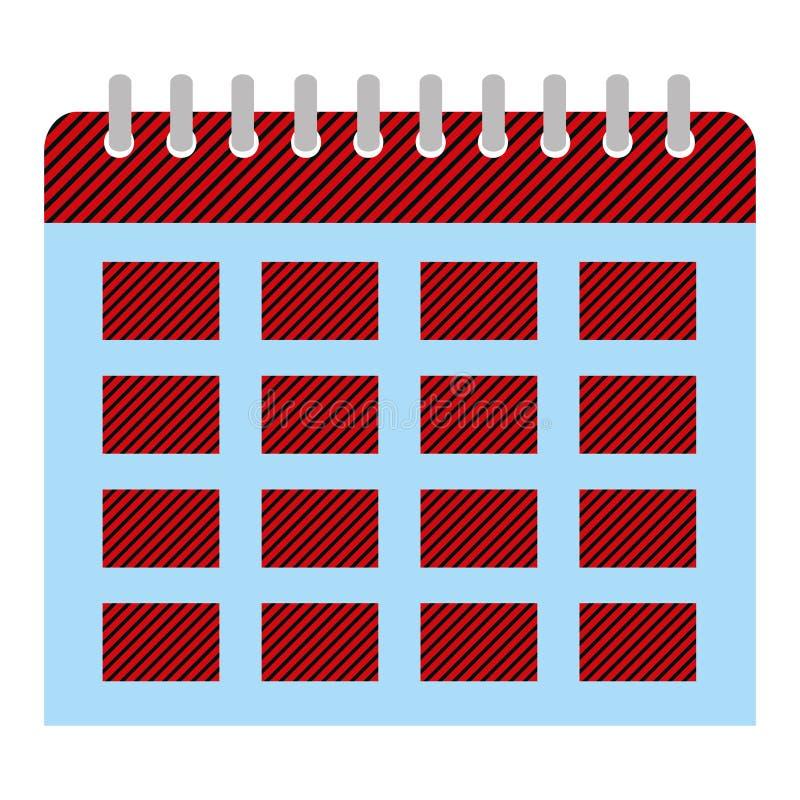 组织者日历对重要事件天 皇族释放例证
