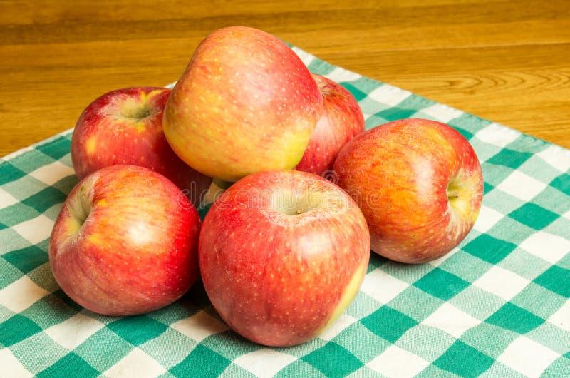 组Pinova苹果 库存照片