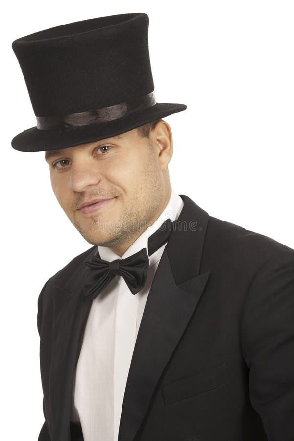绅士微笑 库存照片