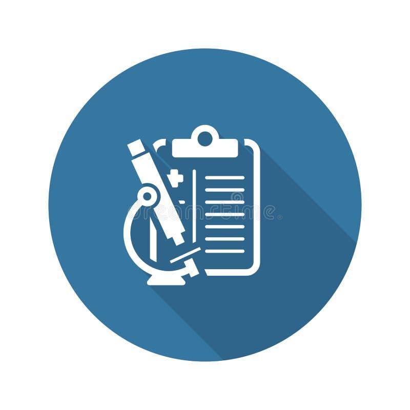 细胞学和医疗平的象 向量例证
