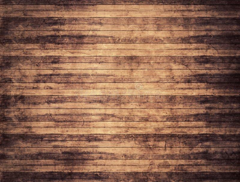 细致的板条构造木 库存例证
