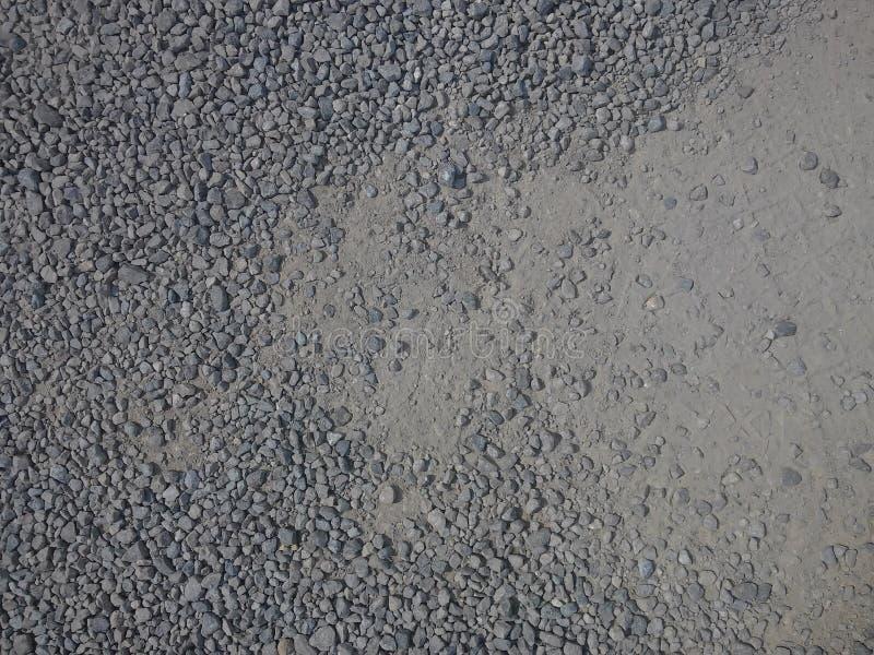 细致的石渣 免版税库存照片