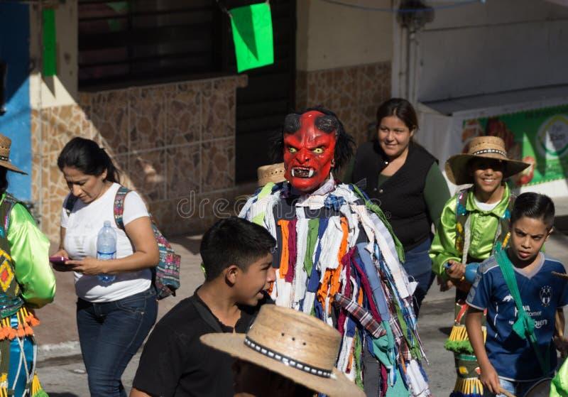 细节从旅行到瓜达卢佩河大教堂在蒙特雷 免版税库存图片
