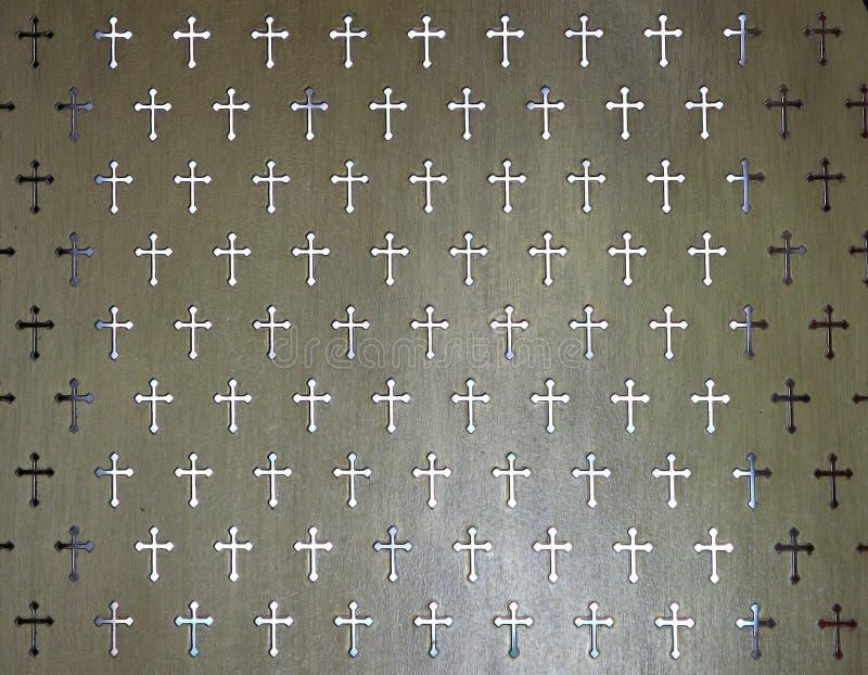 细节分开为接受在罗马天主教堂的一种罪孽 库存图片