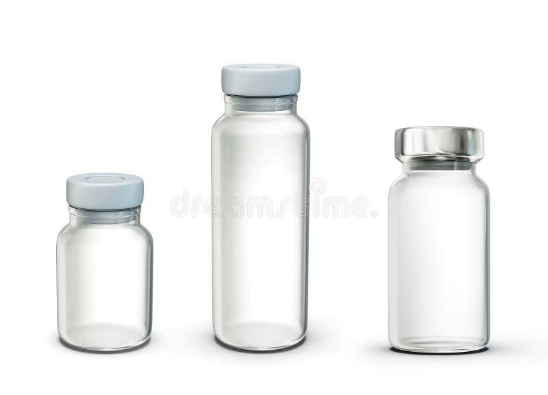 细颈瓶 向量例证