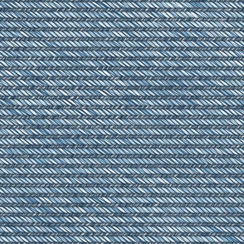 织品例证斜纹布 向量例证