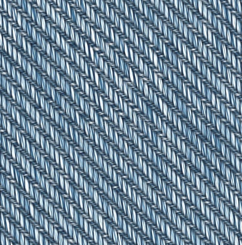 织品例证斜纹布 库存例证