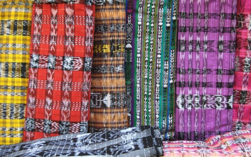 织品危地马拉人被编织 库存图片