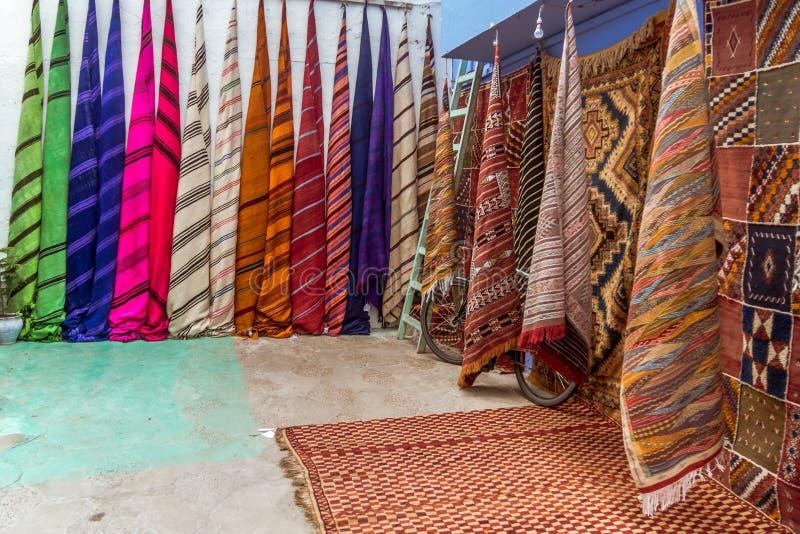 织品和地毯销售  免版税库存图片