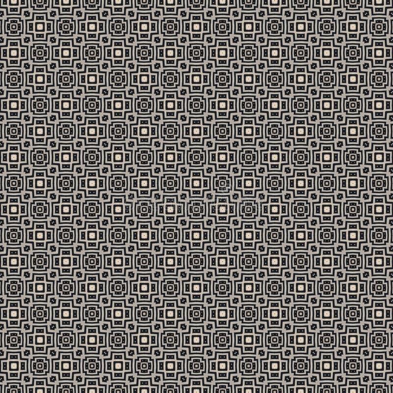 织品或瓦片样式设计的例证 库存例证