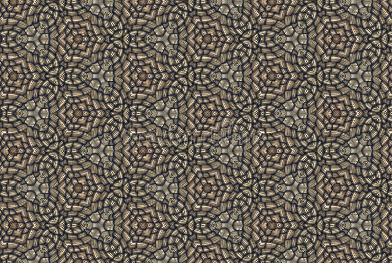 织品或瓦片样式设计的例证 向量例证