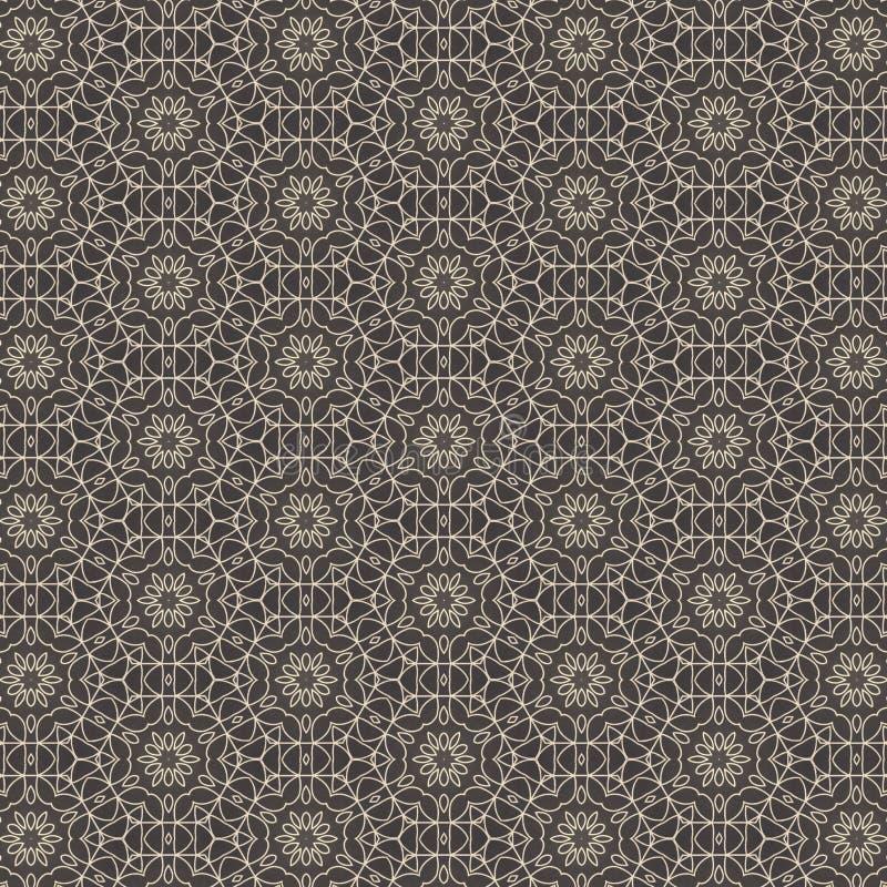 织品或瓦片样式设计的例证 皇族释放例证