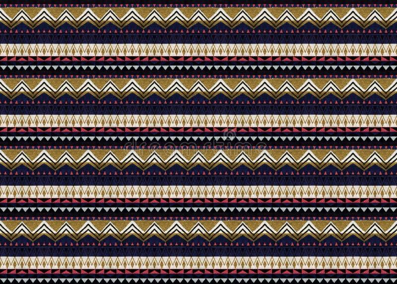 织品无缝的样式纹理背景 免版税库存照片