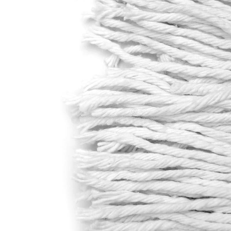 织品白色 免版税图库摄影