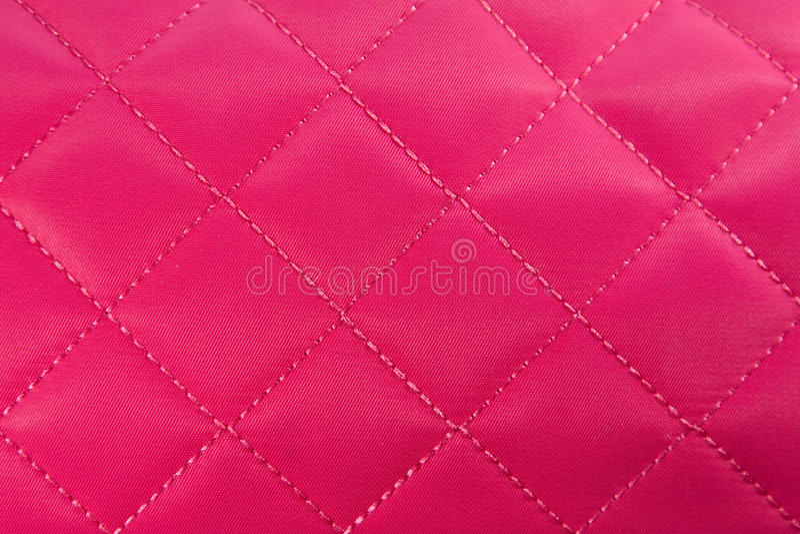 织品粉红色 库存照片