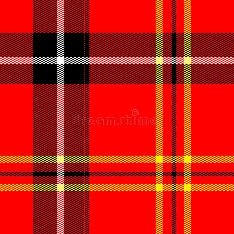织品红色时髦 库存例证