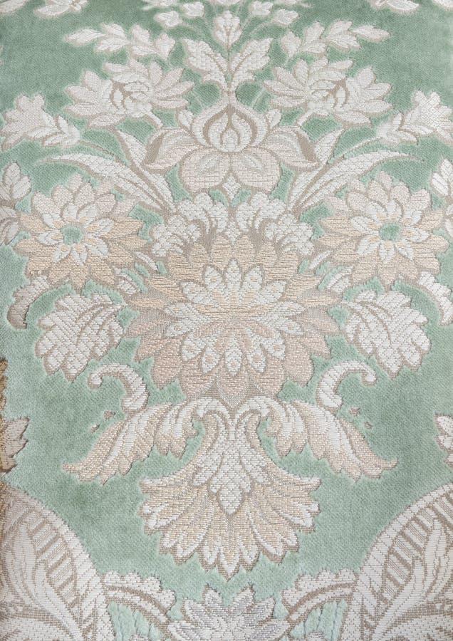 织品纹理维多利亚女王时代的著名人&# 免版税库存图片