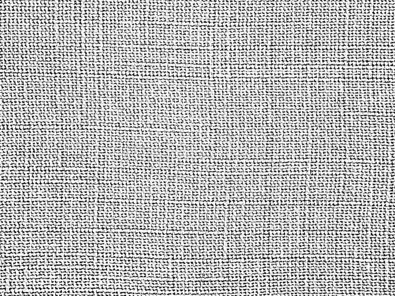 织品纹理 被编织的布料,棉花,羊毛背景 向量例证