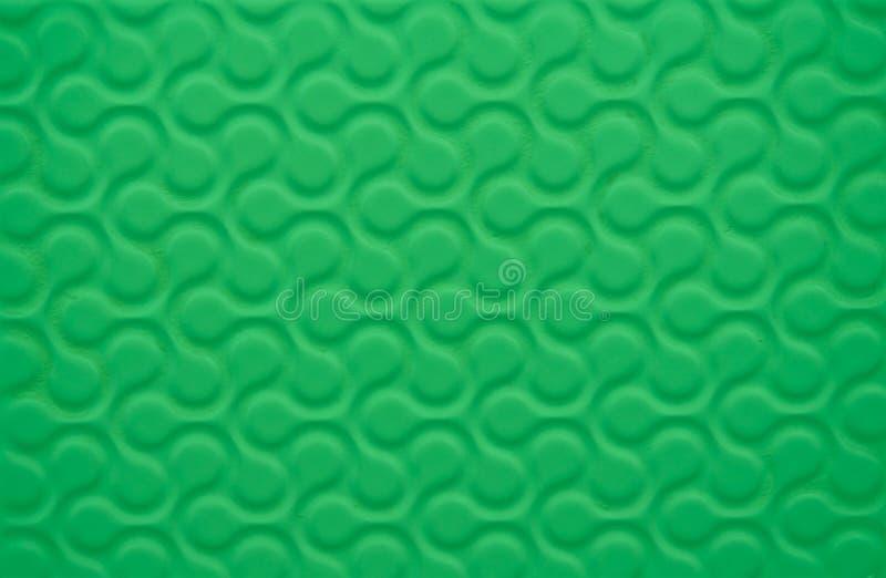 织品绿色墙纸 向量例证