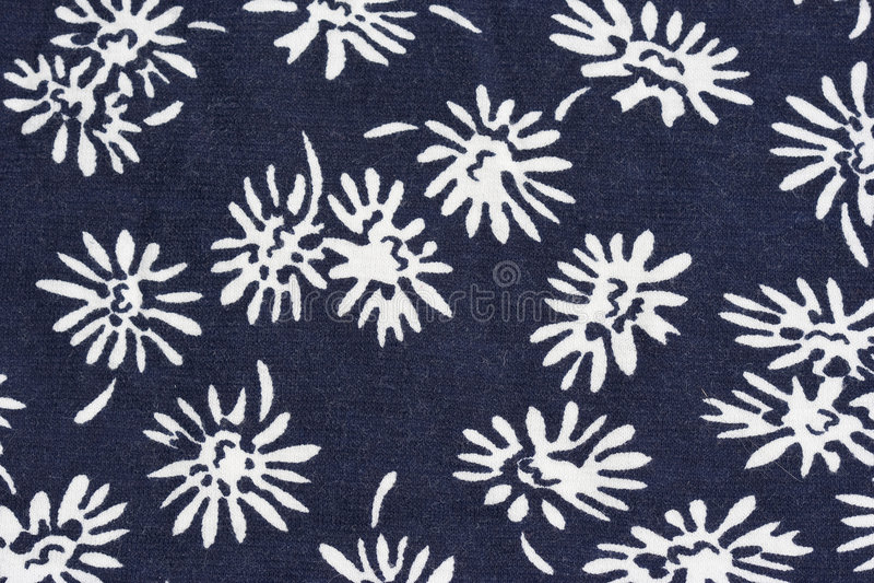 织品花卉模式 免版税库存照片