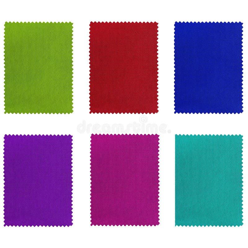 织品范例 免版税图库摄影