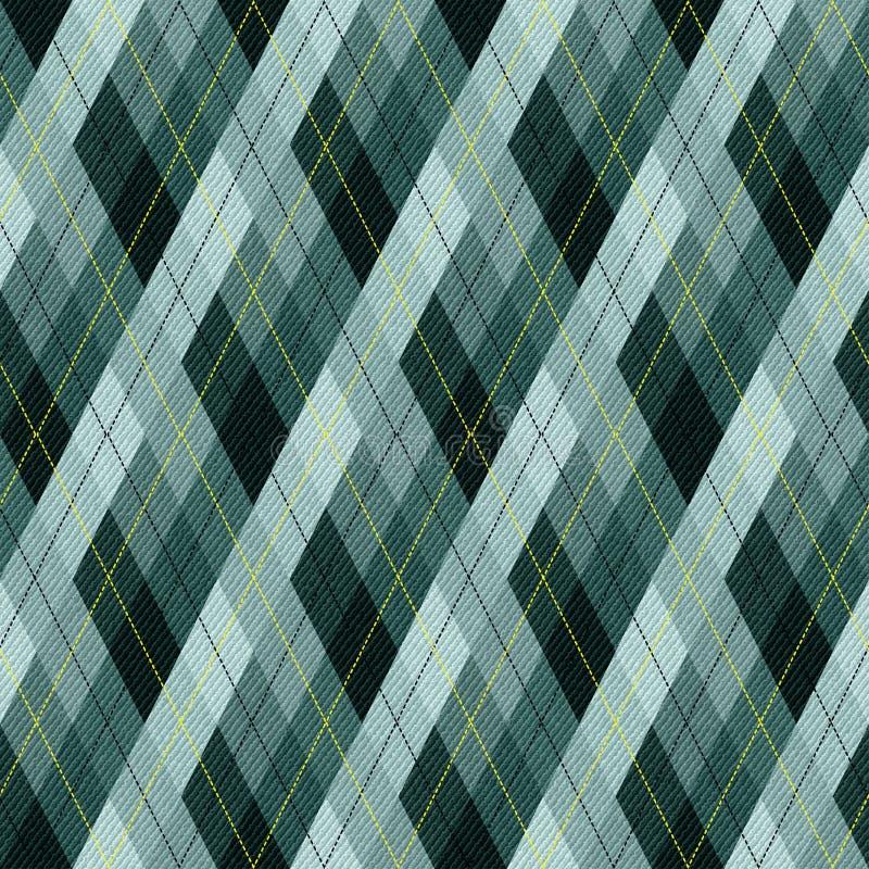 织品菱形 向量例证
