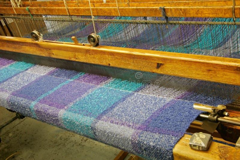 织品被编织的爱尔兰 库存图片