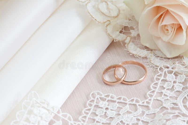 织品鞋带婚礼 免版税库存照片