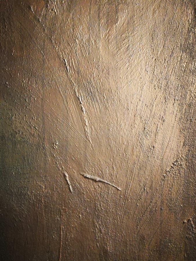 织地不很细古铜色时髦的墙壁 库存图片