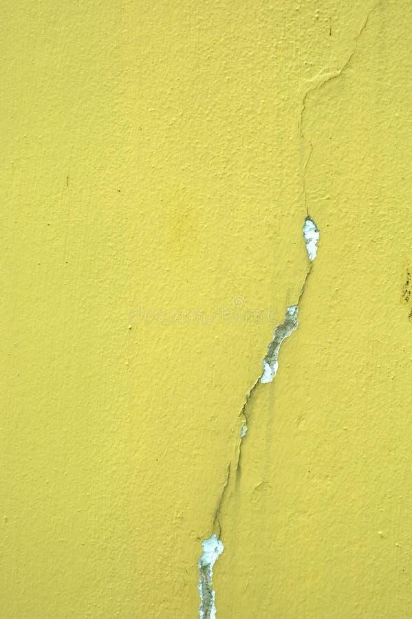 织地不很细墙壁黄色 免版税库存照片