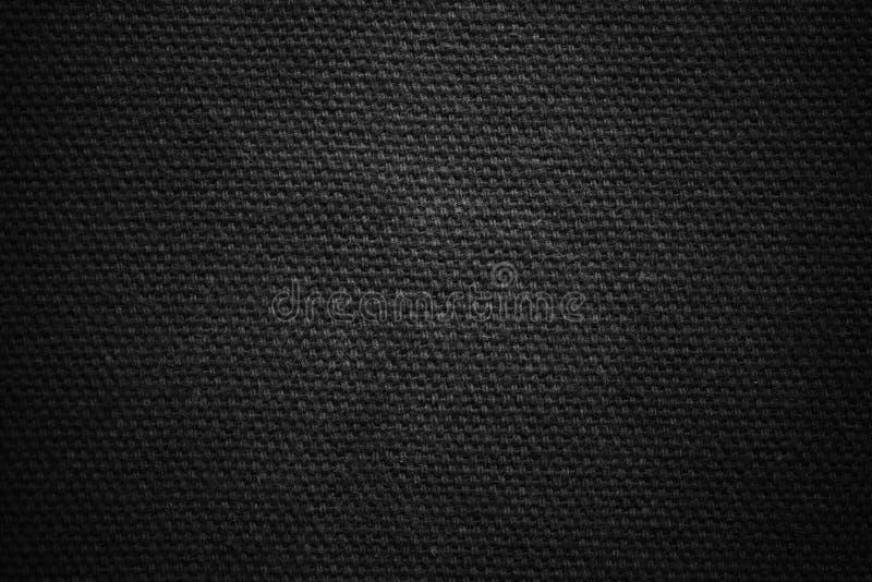 织地不很细织品牛仔裤 黑暗的背景纹理 设计的空白 免版税库存照片
