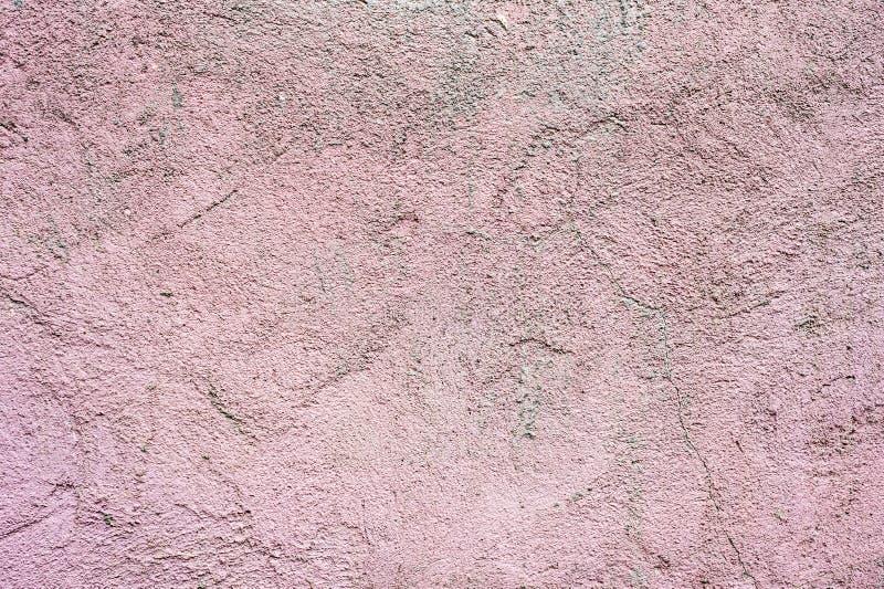 织地不很细背景住宅房子的墙壁的外表面涂灰泥 概略的纹理花梢样式  免版税库存图片