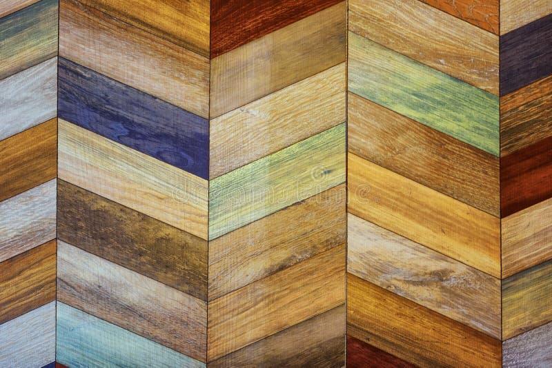 织地不很细背景的被绘的现代木墙壁 库存图片