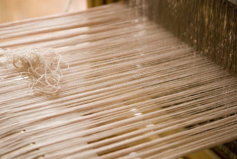 织布机编织 库存照片