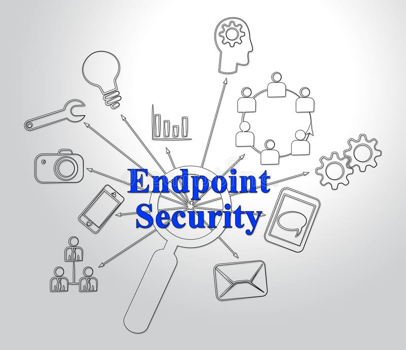 终点安全安全系统保护第2个例证 皇族释放例证