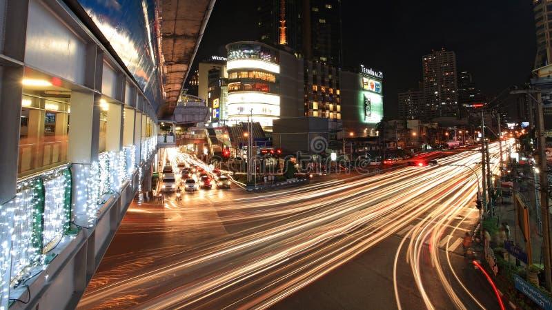 终端21,著名商城,在Asoke交叉点附近在1月18,2013日位于曼谷,泰国。 免版税库存照片